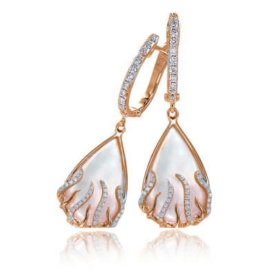 Earrings by Frederic Sage