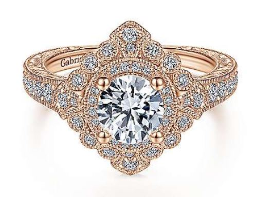 Diamond Engagement/Set and Semi-Mounts by Gabriel & Co